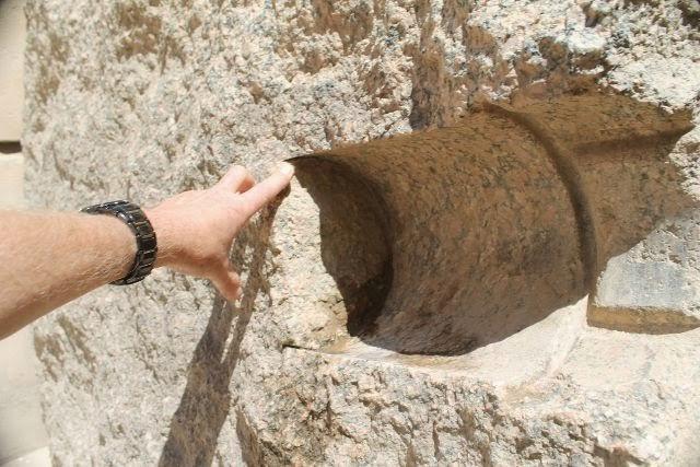Broca grande en Karnak