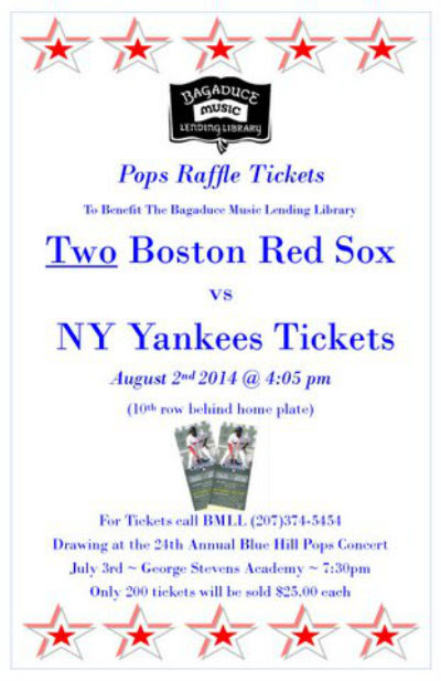 copy of Red Sox Raffle Poster 2