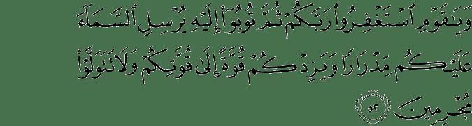 Tafsir Al Quran Surat Hud Ayat 51 60 Dan Terjemahan