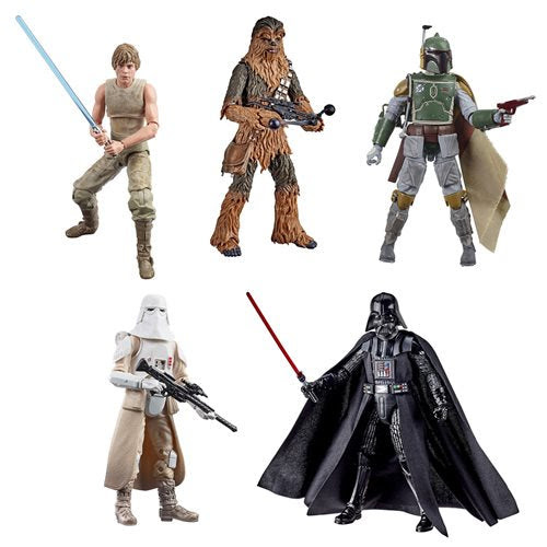 Image of Star Wars Black Series ESB 40th Anniv. 6-Inch Figures Wave 3 Set of 5