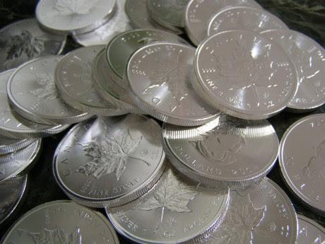 Silver Coins - Public Domain