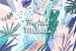Tropical Madness graphic set