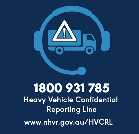 HVNL - Heavy Vehicle Confidential Reporting Line