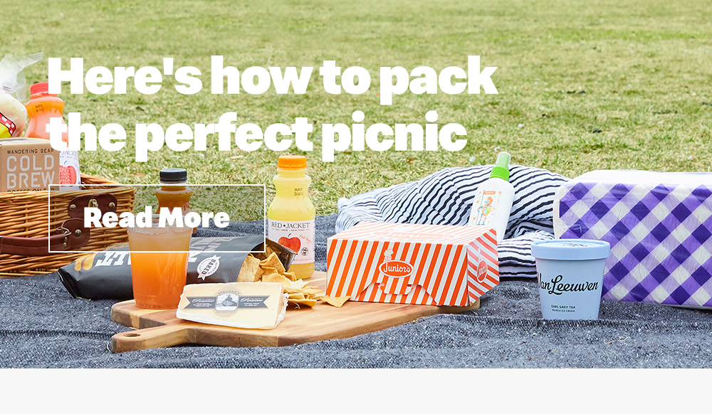 Here's how to pack the perfect picnic.