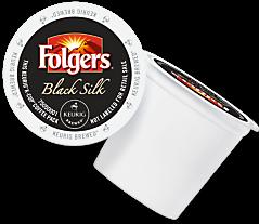 Folgers Black Silk Keurig Kcup coffee