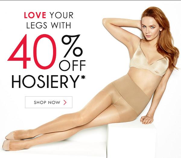 Save 40% off on all hosiery at Berlei.