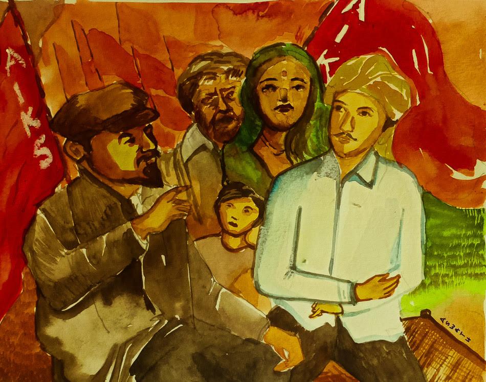 Aswath (India), Lenin met India, 2020