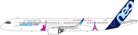 Airbus A321neo 'NewYork to Paris' D-AVZO | is due: January 2020