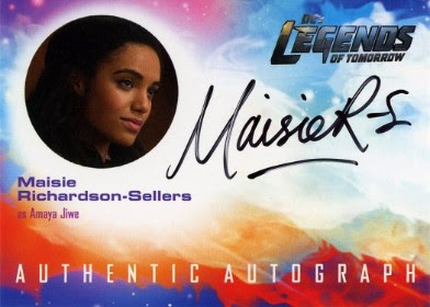 DC's Legends of Tomorrow Trading Cards Seasons 1 & 2 - Autograph Card - Sellers