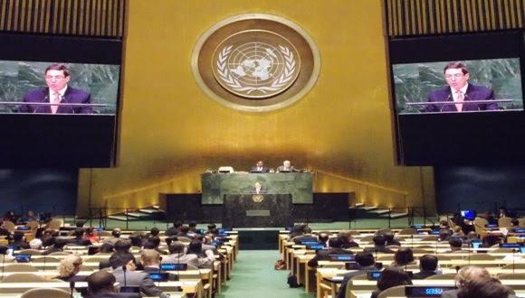 Bruno Rodríguez en la ONU. Foto: Archivo/ Cubadebate.