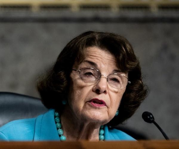 ranking member senator dianne feinstein speaks during a senate judiciary committee hearing
