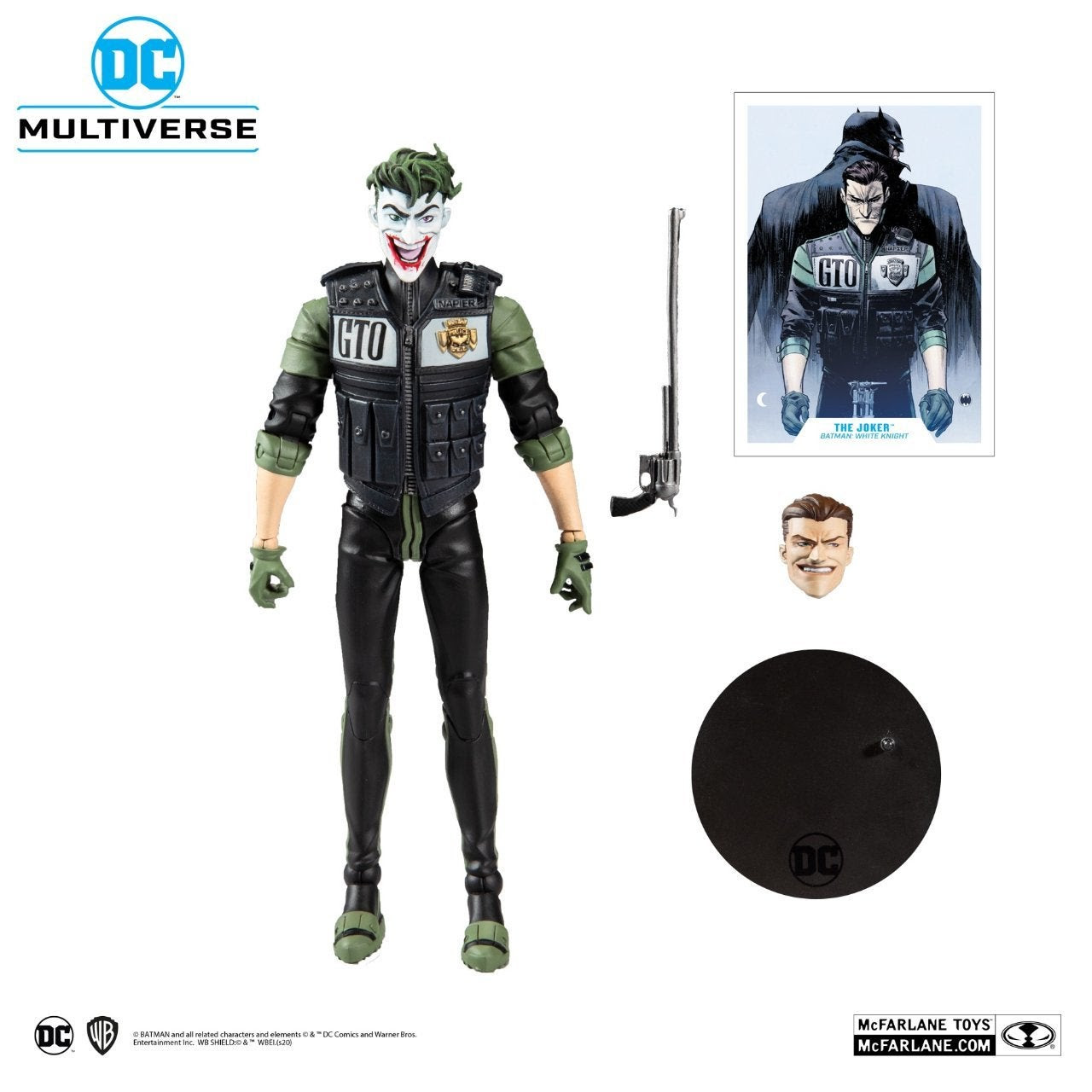 Image of DC Multiverse Batman White Knight Joker 7-Inch Action Figure - JUNE 2020
