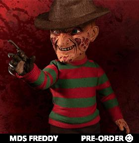 A Nightmare on Elm Street Mezco Designer Series Mega Scale Talking Freddy Krueger