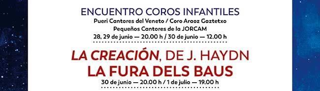 La Creación, de J, Haydn. La Fura dels Baus. 30 junio - 20:00h.