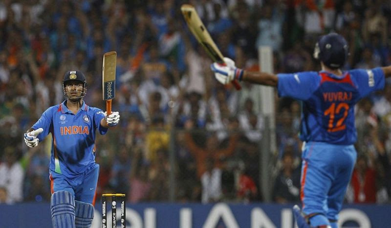MS Dhoni's six in 2011 World Cup final lifted the whole Indian crowd at Wankhede Stadium in Mumbai.