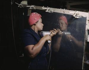 African-American-Woman-War-Worker-World-War-II