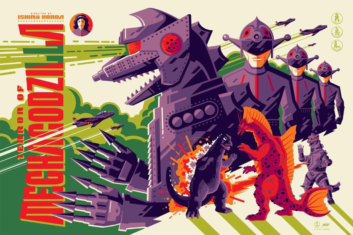 TERROR OF MECHAGODZILLA by Tom Whalen