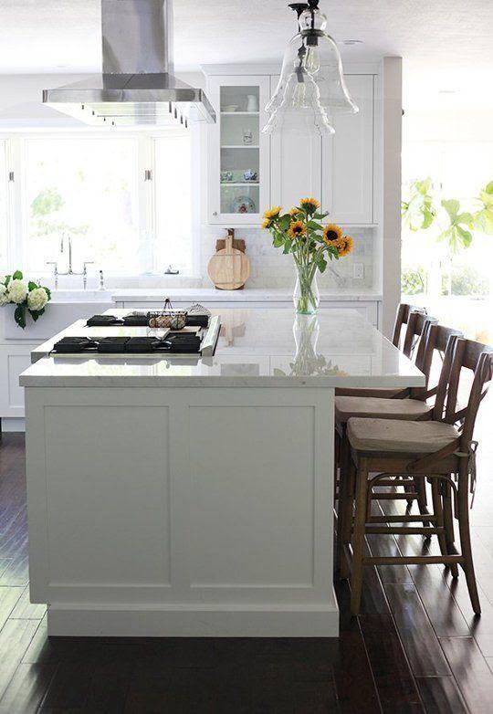 island cooktop
