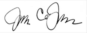 John Dorhauer signature