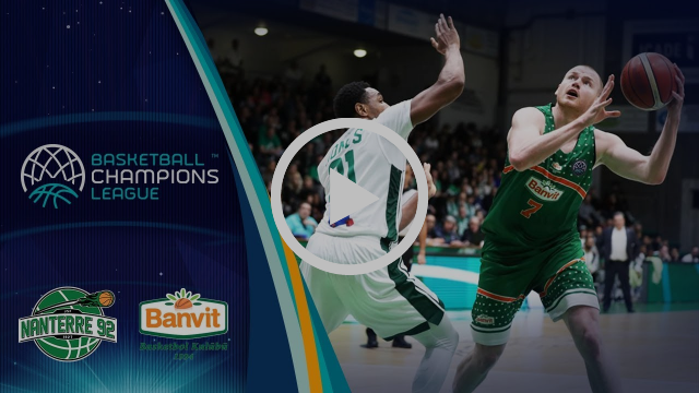 Nanterre 92 v Banvit - Highlights - Round of 16 - Basketball Champions League 2017-18