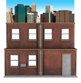 NECA Originals Street Scene Diorama