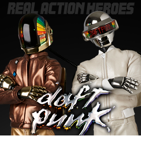 REAL ACTION HEROES DAFT PUNK FIGURES
