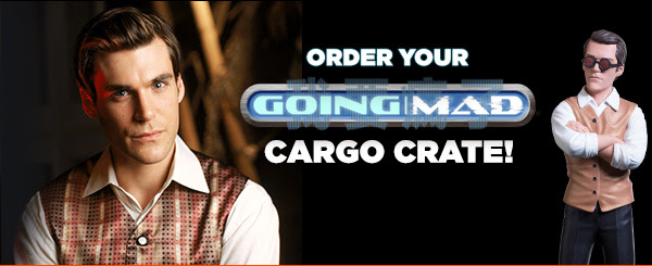 Order your GOING MAD Cargo Crate