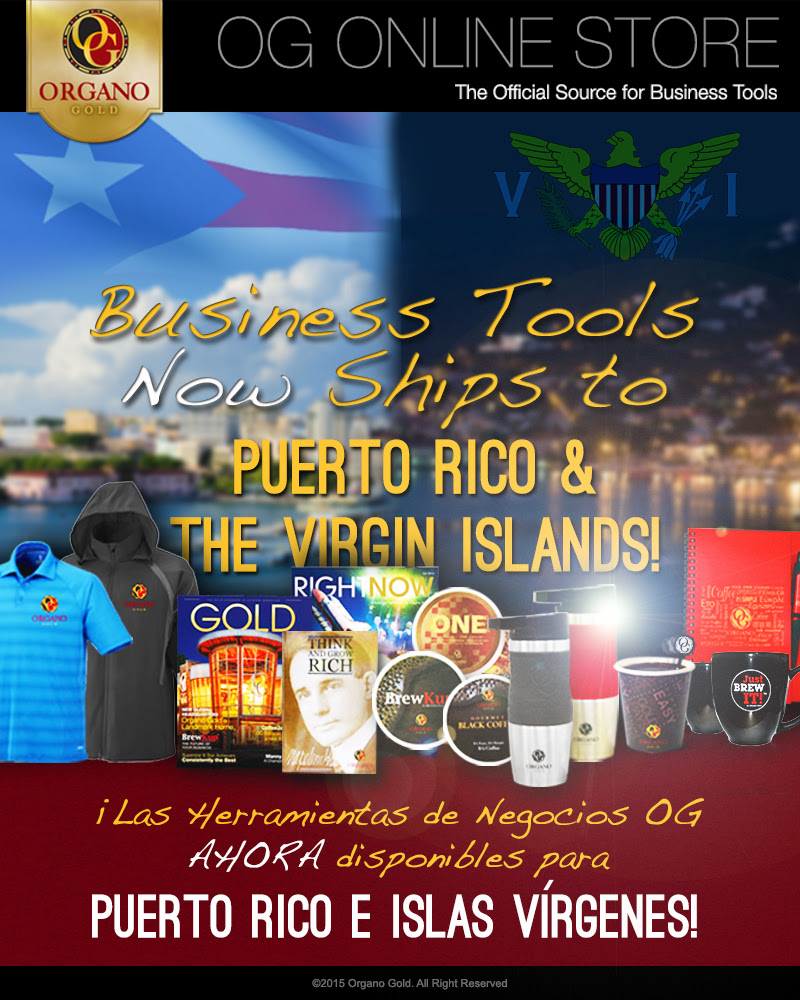 Business Tools Now Ships To Puerto Rico & the Virgin Islands!
