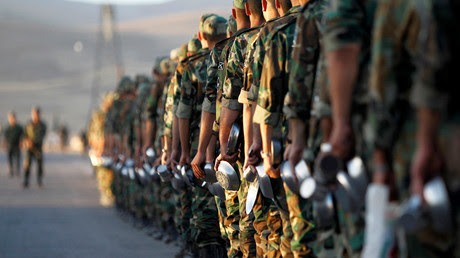 New Syrian army recruits © Omar Sanadiki