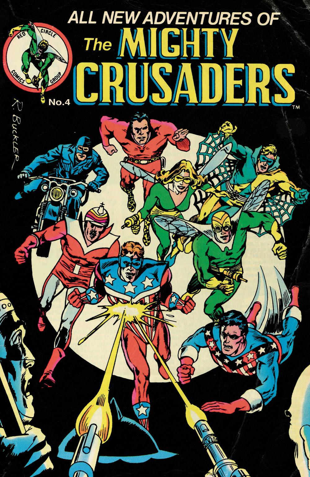 The Mighty Crusaders #4 CVR B: Throwback