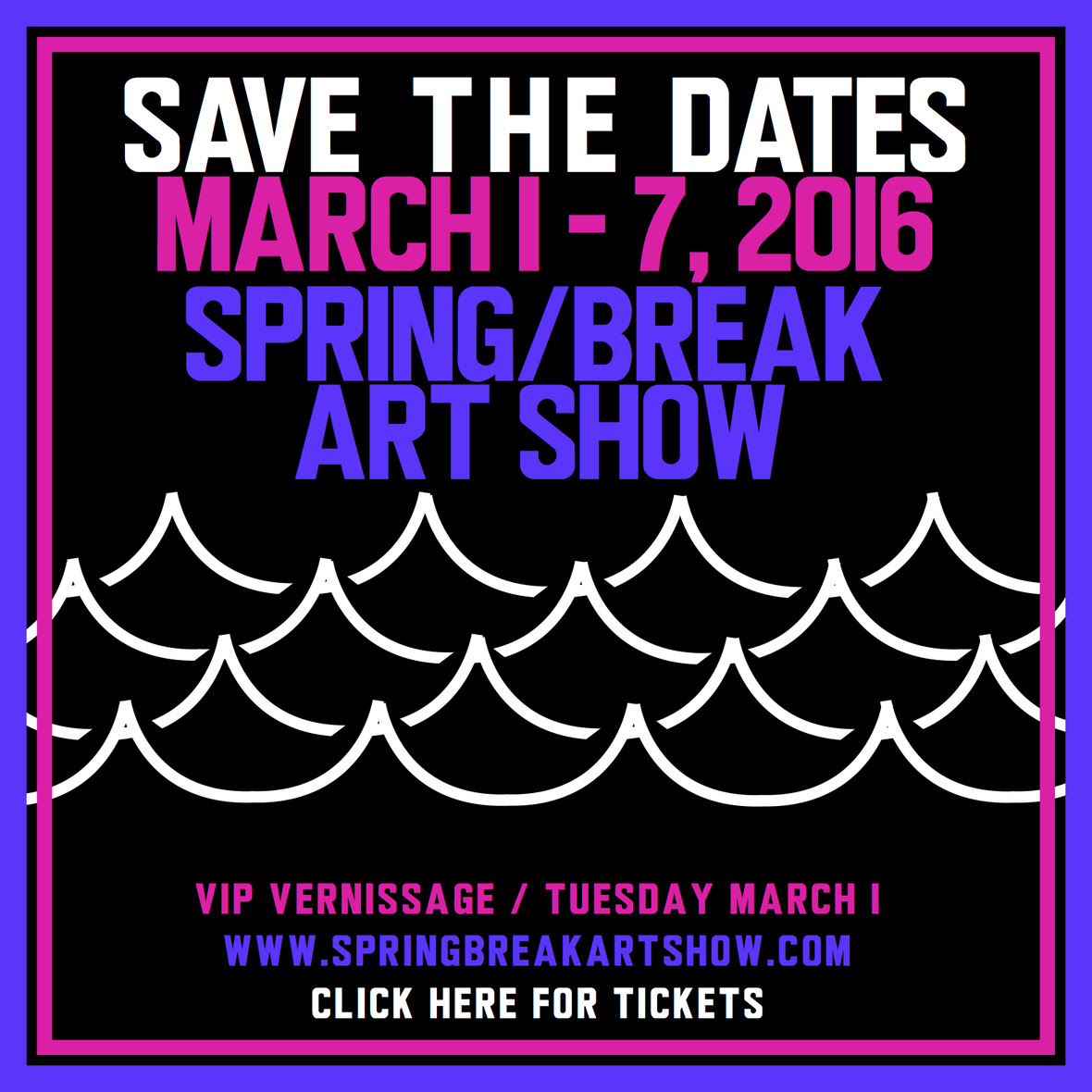 SAVE THE DATE SPRING-BREAK 2016