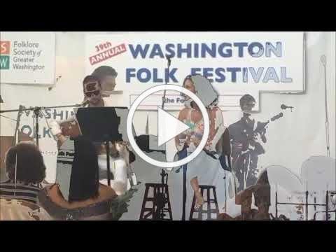 Seth & Flo & Will at the Washington Folk Festival