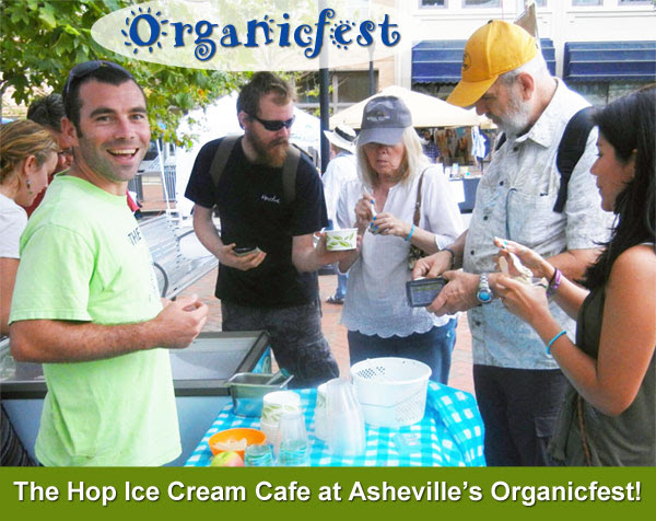 The Hop at Asheville's Organicfest