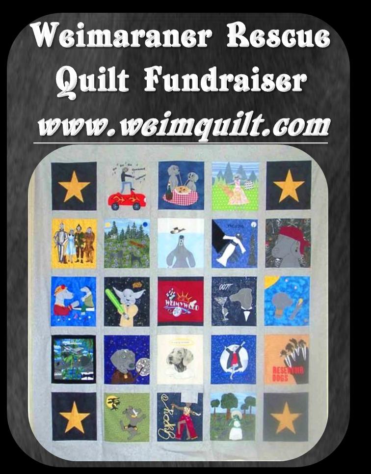 2011 Weim Quilt Logo