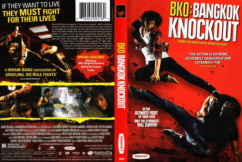 Bangkok Nocaute (Bangkok Knockout) Torrent – DVDRip Dual Áudio (2014)