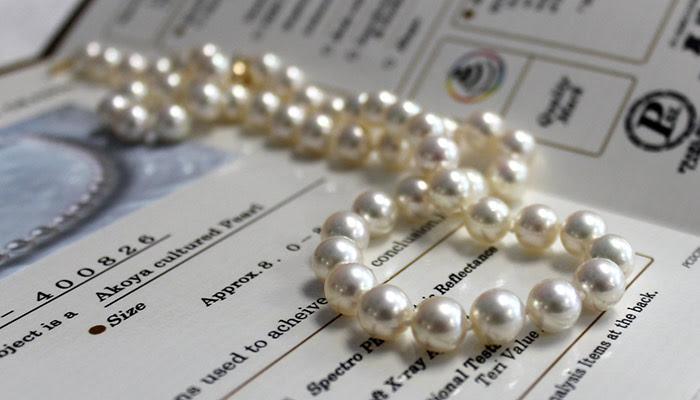 Top grade Hanadama AKoya pearls