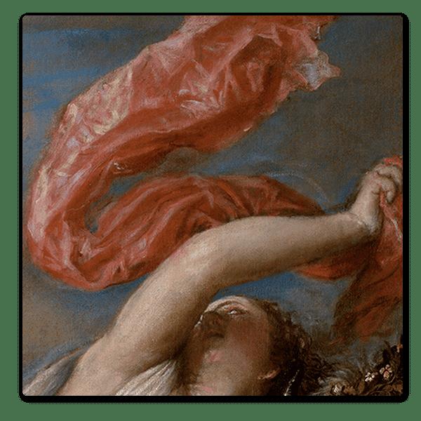 Detail from Titian, 'Rape of Europa', 1562 ©️ Isabella Stewart Gardner Museum, Boston