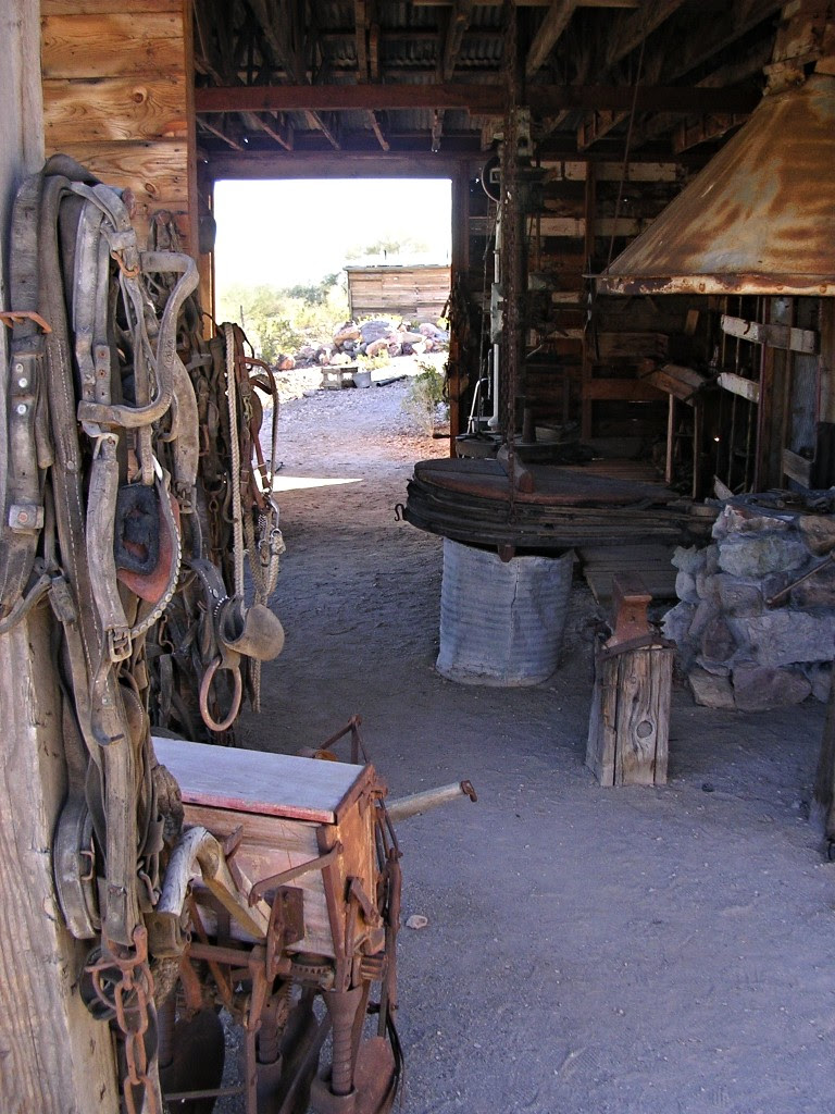 Castle Dome blacksmith