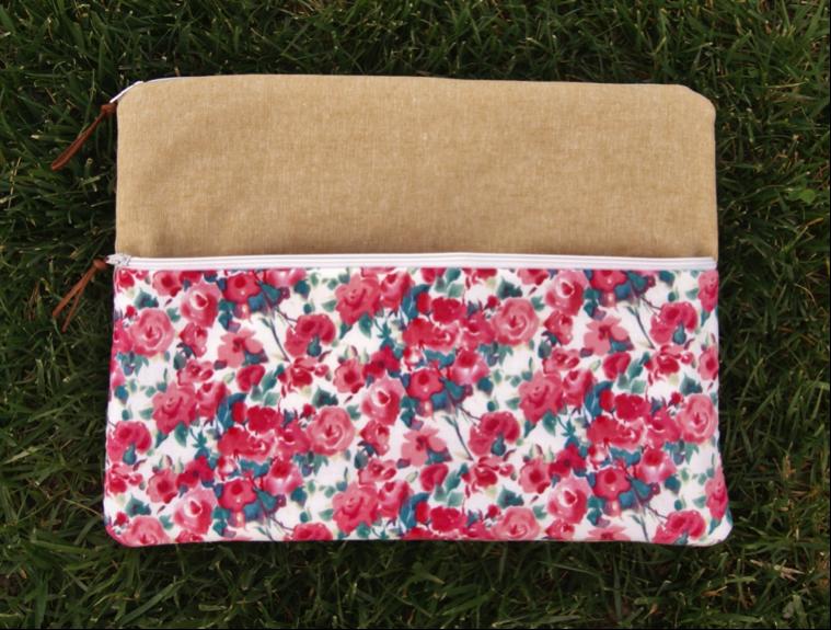 Clutch from Fabric Mutt