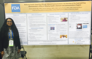 Office of Minority Health Poster Presentation at APHA Conference