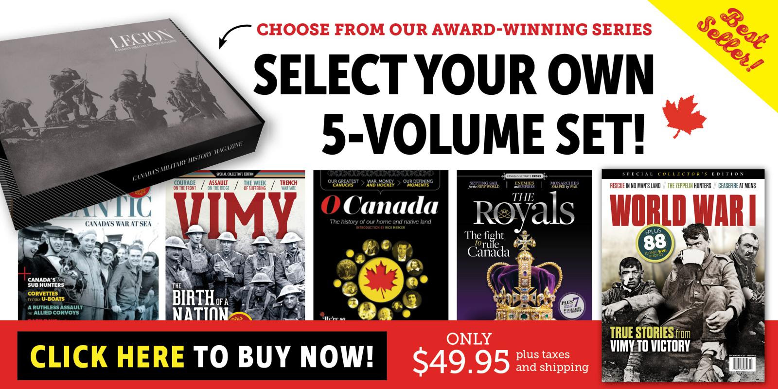 Best-Selling 5-Volume Set!