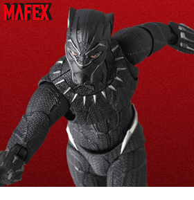 MARVEL MAFEX NO.091 BLACK PANTHER