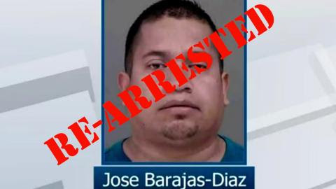 Illegal Alien Arrested Again After Local Authorities Ignore ICE Detainer