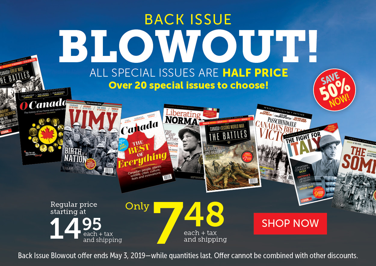 Back Issue Blowout!