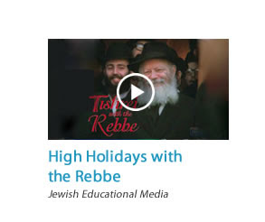 High Holidays with the Rebbe