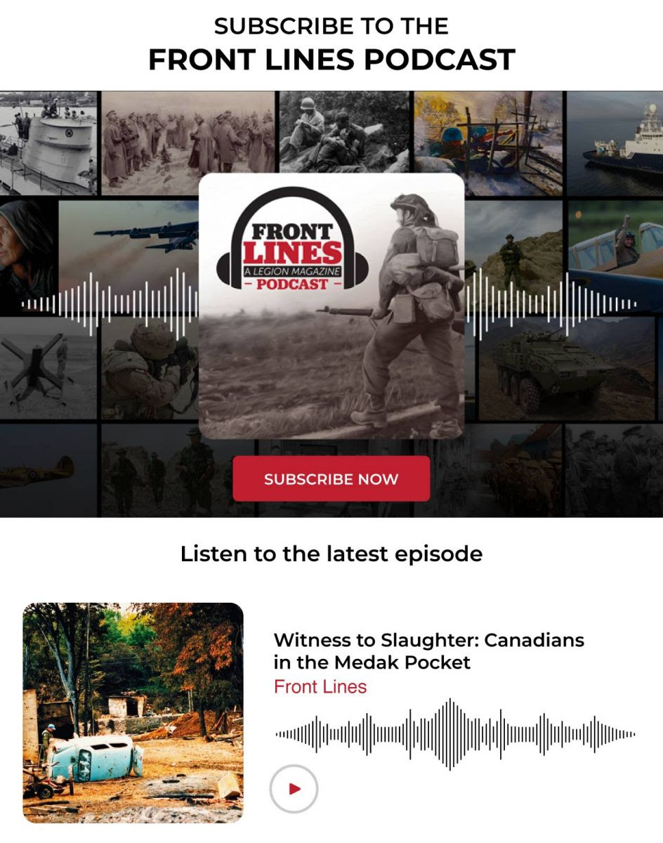 Introducing Front Lines - A new Podcast from Legion Magazine