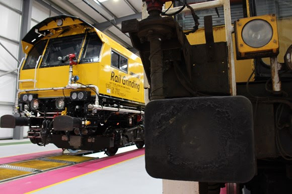 Innovative, new grinding trains will help passenger and freight trains run smoothly and safely for years to come