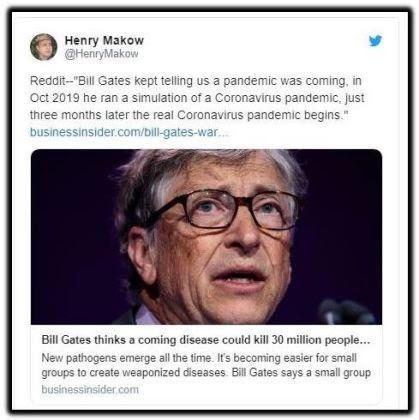 bill gates pandemic corona