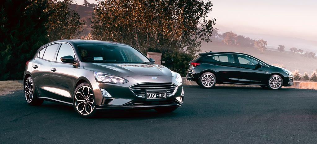 Ford Focus Titanium vs Holden Astra RS-V comparison