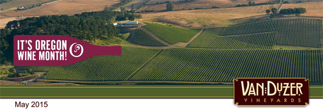 Van Duzer Vineyards Aerial